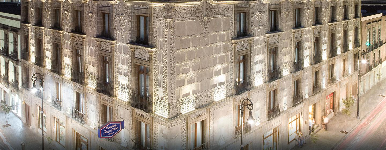 Hotel Hampton Inn & Suites Mexico City - Centro Histórico, Distrito Federal, México - Fachada