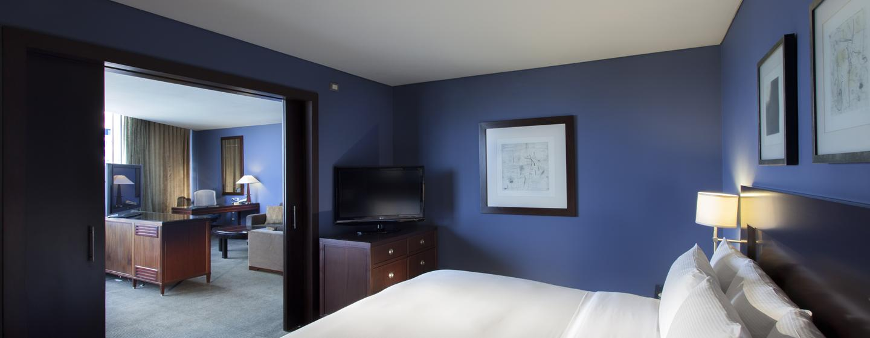 Hotel Hilton Mexico City Reforma, Distrito Federal, México - Suite con cama king