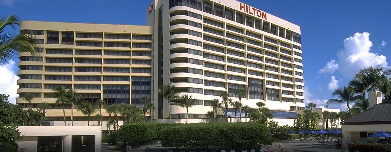 Hotel Hilton Miami Airport, FL - Fachada del hotel