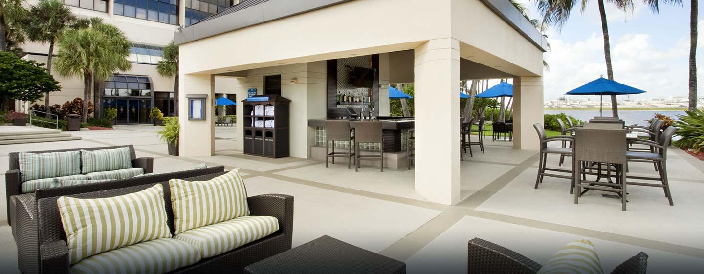 Hotel Hilton Miami Airport, FL - Blue Lagoon Saloon