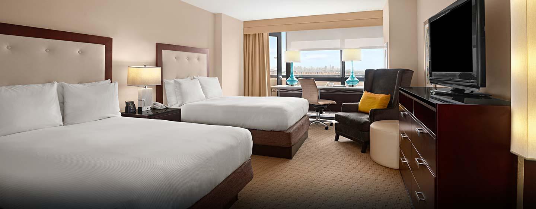 Hotel Hilton Miami Airport, FL - Habitación doble con vista a la ciudad