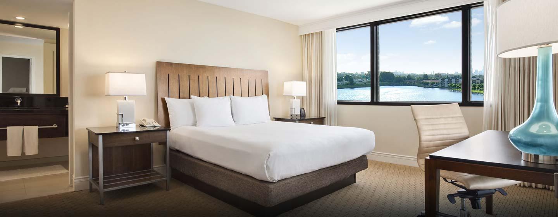 Hotel Hilton Miami Airport, FL - Suite con cama king