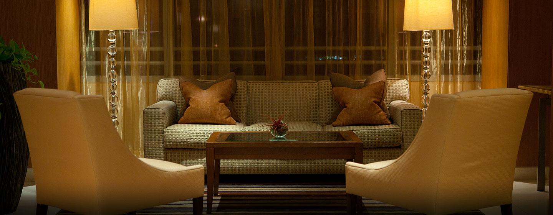 Hotel Conrad Miami, Florida - Área de descanso en el lobby