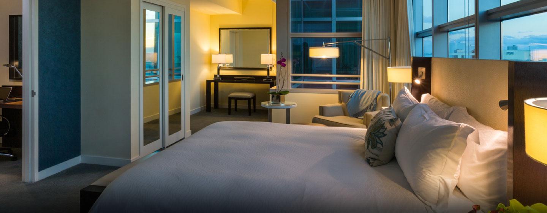 Hotel Conrad Miami, Florida - Habitación con cama king