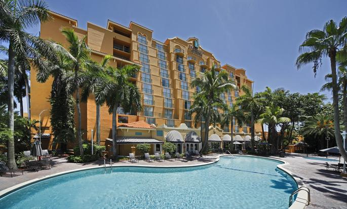 Embassy Suites Miami - International Airport, Florida - Fachada del hotel