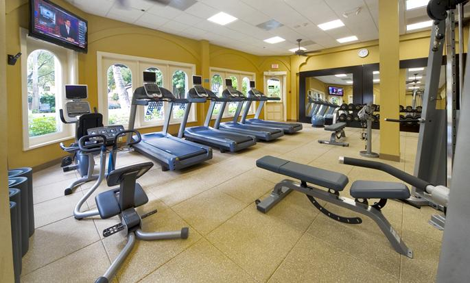 Embassy Suites Miami - International Airport, Florida - Gimnasio