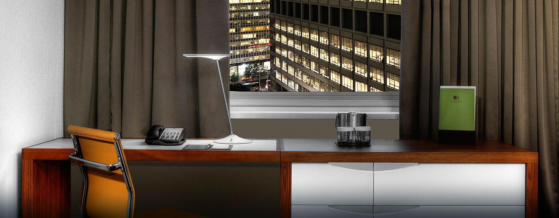 Hotel DoubleTree by Hilton Metropolitan - New York City, NY - Escritorio