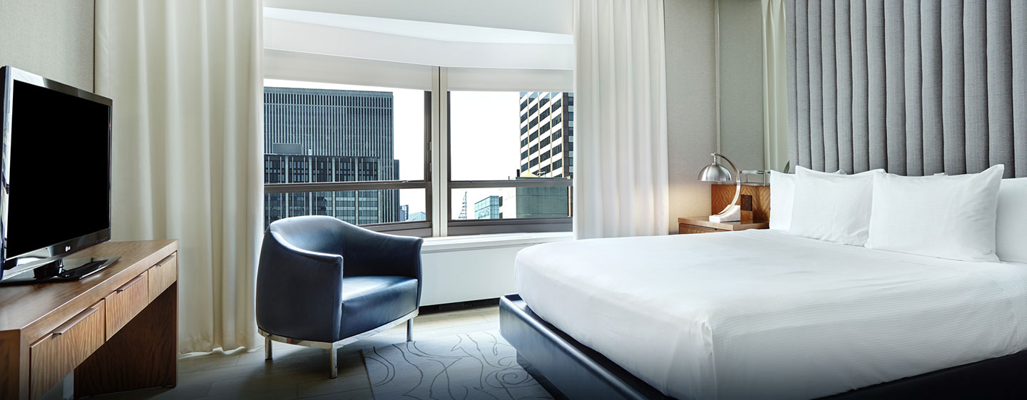 New York Hilton Midtown, NY - Dormitorio de la suite Signature