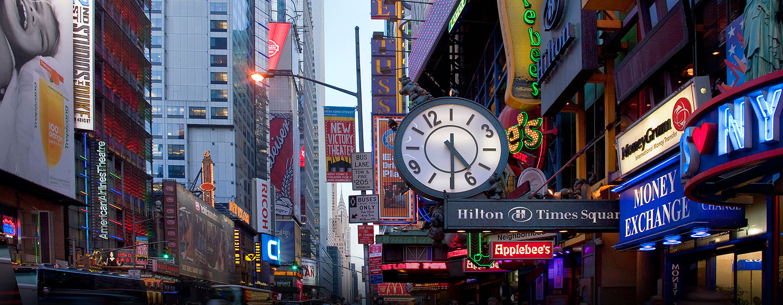 Hotel Hilton Times Square, Nueva York, NY - Times Square