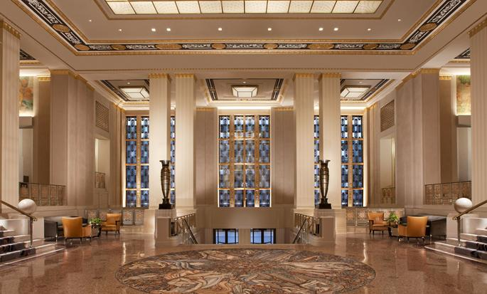 Hotel Waldorf Astoria New York, NY - Lobby