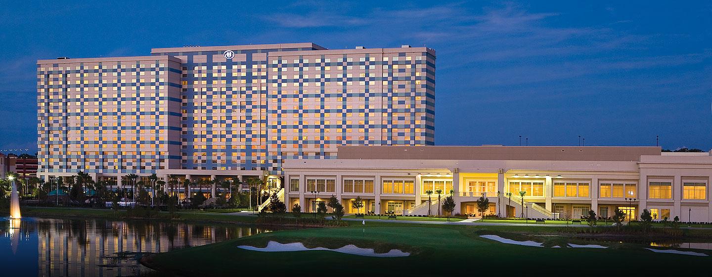 Hilton Orlando Bonnet Creek, Florida - Fachada del hotel
