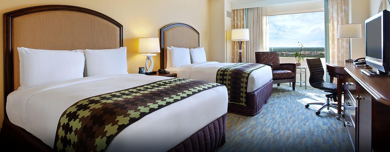 Hilton Orlando Bonnet Creek, Florida - Dos camas Queen estándar