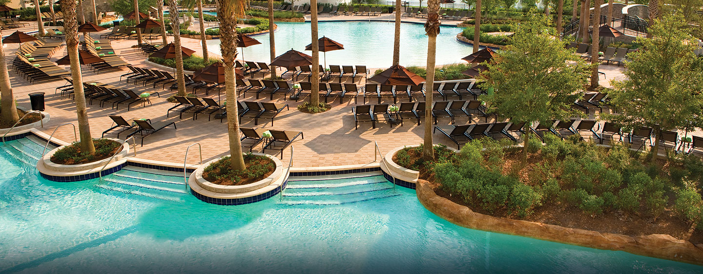 Hilton Orlando Bonnet Creek, Florida - Piscinas