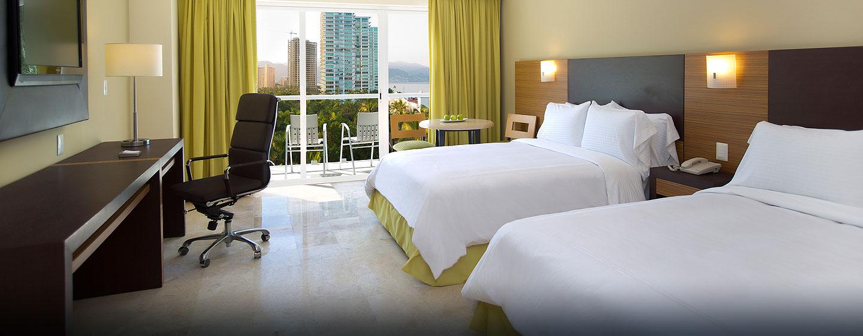 Hilton Puerto Vallarta Resort, Jalisco, México - Habitación doble con vista al mar