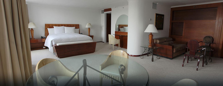 Hotel Hilton Colón Quito, Ecuador - Suite presidencial, dormitorio