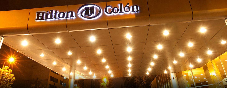 Hotel Hilton Colón Quito, Ecuador - Letrero de entrada