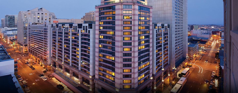 Hotel Hilton San Francisco Union Square, CA - Fachada del hotel