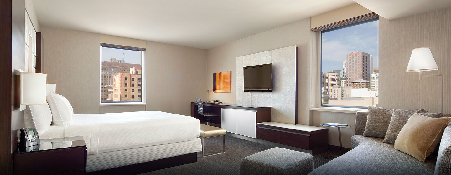 Hotel Hilton San Francisco Union Square, CA - Suite Junior con cama King