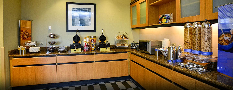 Hotel Hampton Inn & Suites by Hilton San José-Airport, Costa Rica - Área de desayuno
