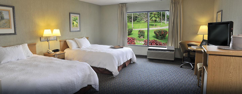 Hotel Hampton Inn & Suites by Hilton San José-Airport, Costa Rica - Habitación accesible para personas con discapacidades