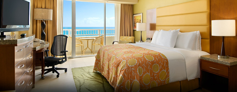 Hotel Caribe Hilton - Habitación con cama King