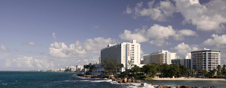 Hotel Condado Plaza Hilton, San Juan, Puerto Rico - Vista panorámica del hotel