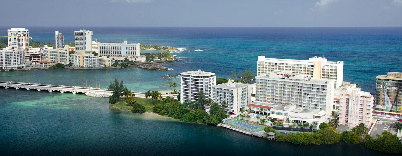 Hotel Condado Plaza Hilton, San Juan, Puerto Rico - Vista Aérea
