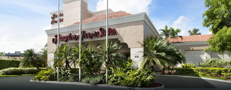 Hotel Hampton Inn & Suites San Juan, Puerto Rico - Entrada del hotel