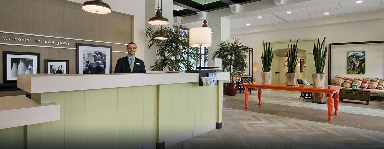 Hotel Hampton Inn & Suites San Juan, Puerto Rico - Recepción