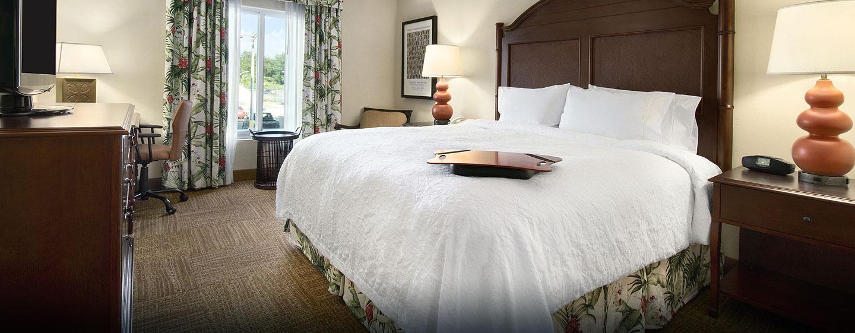 Hotel Hampton Inn & Suites San Juan, Puerto Rico - Habitación con cama King