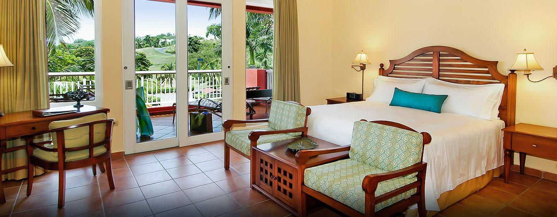 Las Casitas, a Waldorf Astoria Resort, Fajardo, Puerto Rico - Habitación con cama King y vista al jardin