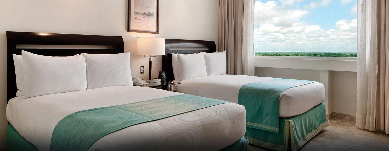 Hotel Hilton Villahermosa & Conference Center, México - Habitación con camas dobles