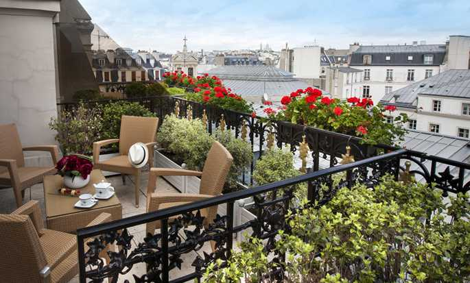 Hotel Astor - Saint Honoré, Paris, France - Terrasse