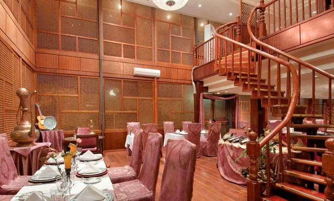 H 244 Tel Hilton Alger Alg 233 Rie Restaurant Cabash