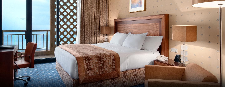 Hôtel Hilton Alger, Algérie - Chambre de luxe avec très grand lit