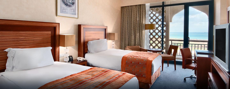 Hôtel Hilton Alger, Algérie - Chambre de luxe avec lits jumeaux