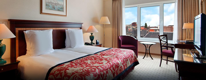 Hôtel Hilton Antwerp Old Town, Belgique - Chambre de luxe avec lits jumeaux