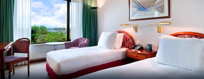 Hôtel Hilton Basel Hotel, Suisse - Chambre Hilton avec lits jumeaux