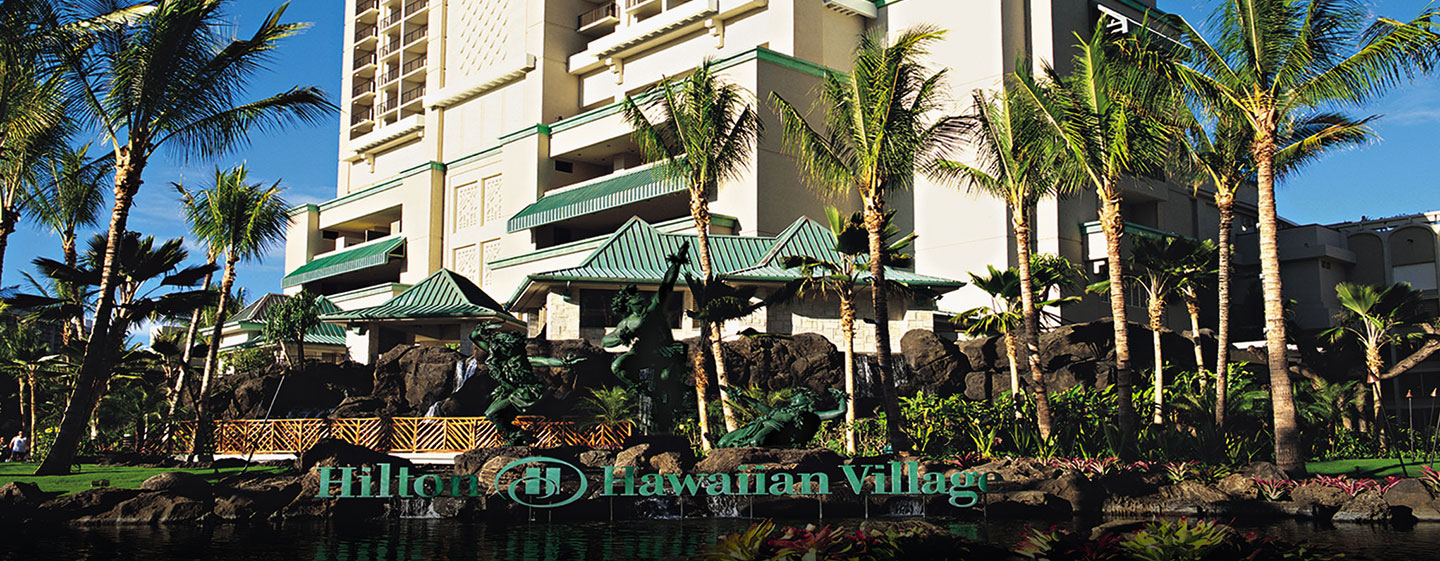 Hôtel Hilton Hawaiian Village Waikiki Beach Resort, États-Unis - Tour Kalia Tower