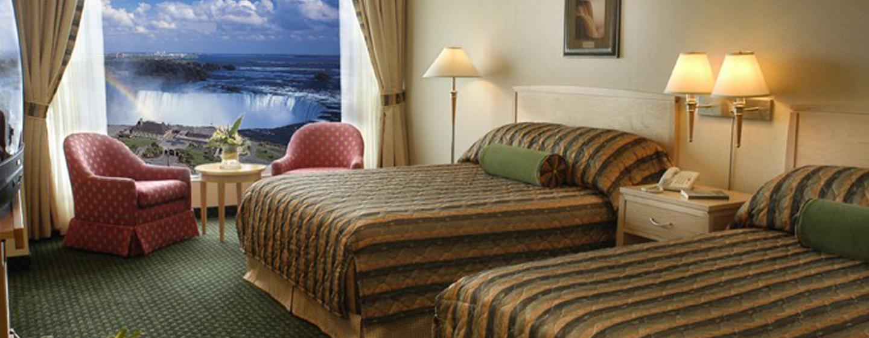 Hôtel Embassy Suites Niagara Falls - Fallsview, ON, Canada - Suite Fallsview avec deux grands lits