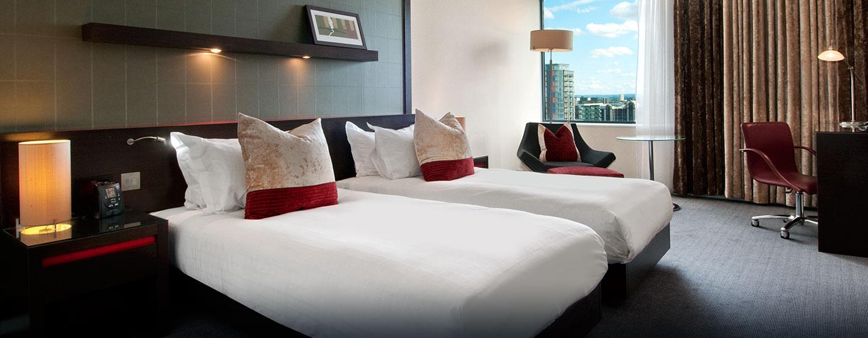 Hôtel Hilton London Canary Wharf, Londres - Chambre exécutive Hilton avec lits jumeaux