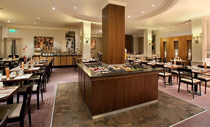 Hôtel Hilton London Euston, Royaume-Uni - Bar et restaurant buffet Mulberry