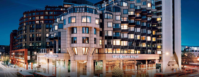 Hôtel Hilton London Metropole, Royaume-Uni - Extérieur