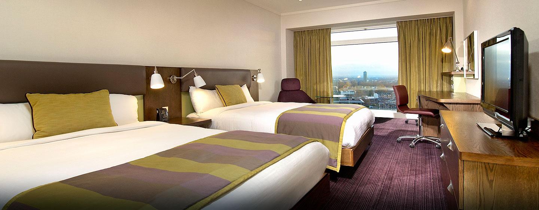 Hôtel Hilton London Metropole, Royaume-Uni - Chambre supérieure Hilton avec grands lits