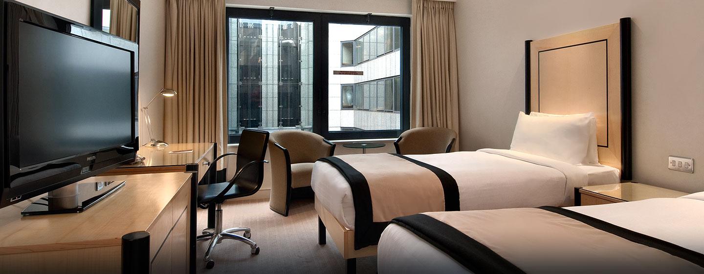 Hôtel Hilton London Metropole, Londres - Chambre exécutive avec lits jumeaux