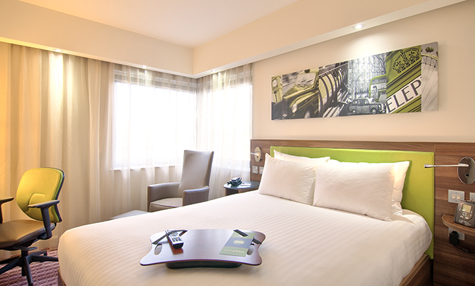 Hôtel Hampton By Hilton London Waterloo - Chambre standard
