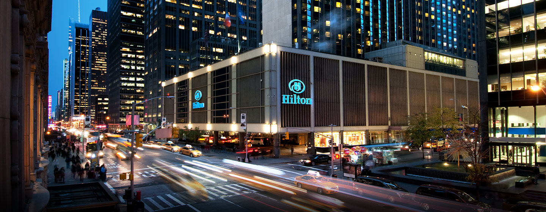 Hôtel New York Hilton Midtown, États-Unis - Bienvenue