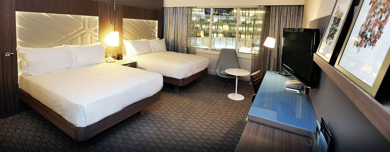 Hôtel Hilton Paris La Défense, France - Chambre de luxe avec deux grands lits