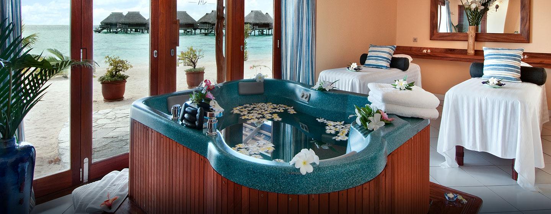 Hôtel Hilton Moorea Lagoon Resort & Spa, Polynésie française - Salle de spa
