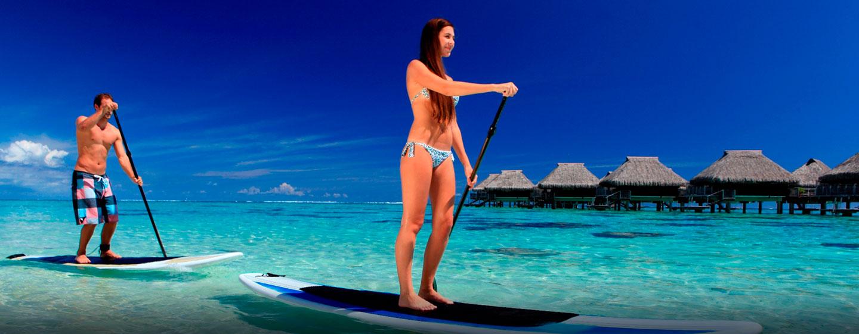 Hôtel Hilton Moorea Lagoon Resort & Spa, Polynésie française - Activités aquatiques